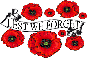 In Flanders Field ~ Lest We Forget